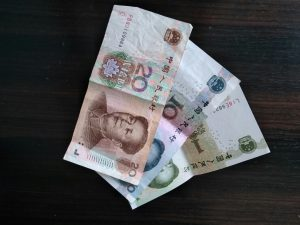 money transfer from the US to China